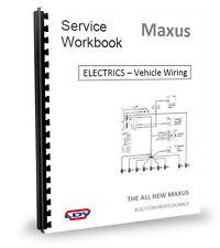 LDV Maxus van el diagrama de cableado & Electrics 2.5CDi 05 >