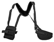 Black Gun Double Shoulder Holster w/Clip Pouch BB Airsoft Pistol Handgun 21270BK
