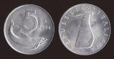 5 LIRE 1954 VARIETA' FIRMA A 1mm DAL BORDO - ITALIA - FDC DA ROTOLINO