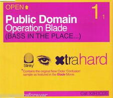 PUBLIC DOMAIN - Operation Blade (UK 3 Track CD Single)