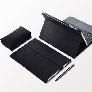 """Microsoft Surface Go/Go 2 10.5"""" PU Leather Stand Flip Case Smart Cover+Power Bag"""