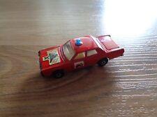 MATCHBOX FOD MERCURY FIRE CHIEF CAR #590_used diecast toy vehicle_xx79_Z4a96