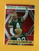 40613 BRETT FAVRE 2006 FINEST GREEN BAY PACKERS FINEST MOMENTS PACKERS CARD #BF9