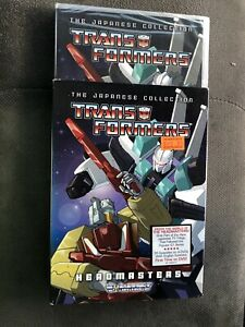 Transformers: Headmasters - The Japanese Collection (4-Disc Set) FACTORY SEALED!