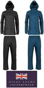 Ladies Waterproof Jacket Trousers Coat Suit Wind Proof Walking Hiking Camping