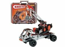 Huge Erector 25 model set with motor & case Special Edition Anniversary Set