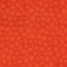 Michael Miller Hash Dot CX6699 Clementine Cotton Fabric