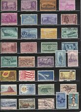 US 200 different commemorative/large stamps,used off paper + Souvenir Sheet