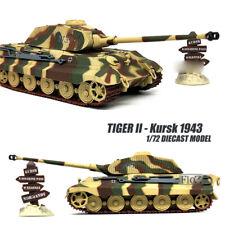 Tiger II - Kursk 1943 1/72 diecast tank model ATLAS