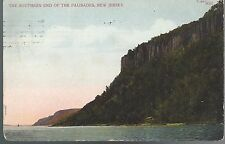 1909 Southern End of the Palisades NJ