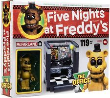 Five Nights at Freddy's The Office Construction Set [Golden Freddy]