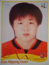 Panini 209 kim myong Gum corea DPR FIFA Women's WM 2011 Germany