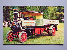 R&L Postcard: Foden Steam Wagon No.6350, W D J Sparrow, Harvey Barton