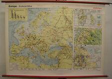 Murs Carte Mural Carte Map Carte Europe Europe Bodenschatz Mining 135x98