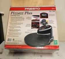 Presto Pizzazz Plus Rotating Pizza Oven 03430 Chicken Wings & Grilled Sandwiches