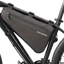 RockBros Waterproof Bike Bicycle Bag Triangle Large Cycling Tube Frame Bag 8L
