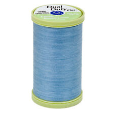 S960-4320~COATS & CLARK COTTON WRAPPED POLY HAND QUILTING THREAD~MEDIUM blue