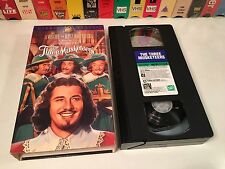 The Three Musketeers Musical Action Comedy VHS 1939 Ritz Brothers Don Ameche