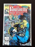 THE PUNISHER: WAR JOURNAL #3 MARVEL COMICS 1989 NM+