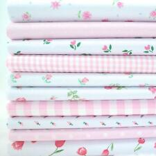 10 x 1 METRO pacchetto - Allegro rosa - Piccolo e Florals tessuto Poli Cotone