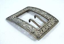 Insólita fina Hebilla de cinturón hebilla para 1900 Plata maciza