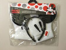 DISNEY : MICKEY MOUSE EARS & GLOVES (Halloween / Cosplay) Brand New