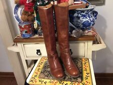 NINE WEST VINTAGE AMERICA COLLECTION WOMEN'S Brown RIDER BOOTS SIZE 6M