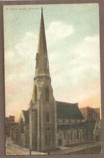 Vintage Postcard Unposted St Paul'S Church Syracuse New York