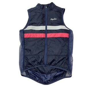 Rapha Brevet Insulated Gilet Vest Size Small Blue Pink White VERY NICE
