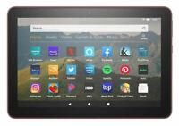 """All-new Fire HD 8 tablet, 8"""" HD display, 32 GB, Plum (Newest Model)"""
