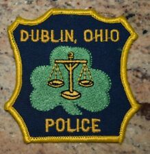 """Dublin OH  Police Patch  """"Scales of Justice"""""""