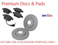 FOR VW GOLF MK7 VII 2.0 GTI 2012-2016 PREMIUM FRONT BRAKE DISCS AND PADS SET