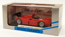 Minichamps 1/43 Scale 430 947400 - 1994 Ferrari 333SP IMSA-WSC Presentation