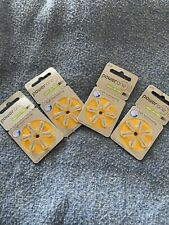 PowerOne P10 Hearing Aid Batteries-Made in Germany 4 Packages