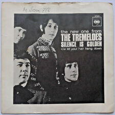 """The Tremeloes - Silence Is Golden / Let Your Hair Hang Down 7"""" Vinyl 45RPM 1960s"""