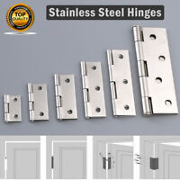 1pc 1/1.5/2/2.5/3/4'' Inch Stainless Steel Mini Hinge Cigar Box Hinge
