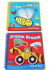 2 infantil Plantillas Libros Actividades Animales & Vehículos & Short HISTORIA