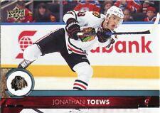17/18 UPPER DECK BASE #41 JONATHAN TOEWS BLACKHAWKS