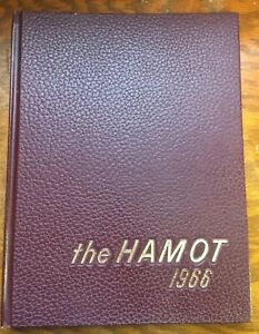 THE HAMOT 1966 Tomah WI High School Year Book Vintage, No Writing, Hardcover