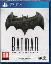 BATMAN: THE TELLTALE SERIES (SEASON PASS DISK 1-5) GAME PS4 ~ NEW / SEALED