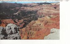 Cedar Breaks from Spectra Point  East of Cedar City  Utah      Postcard 2257