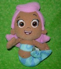 "Nickelodeon Bubble Guppies Molly Plush Soft Stuffed Doll Toy 7"" Mermaid Pink"