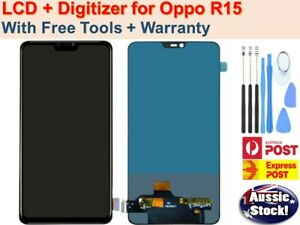 OEM OPPO R15 PRO 6.28'' LCD AMOLED DISPLAY TOUCH SCREEN DIGITIZER ASSEMBLY AU