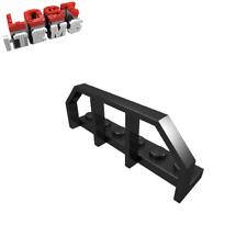5 x [neu] LEGO Platte 1 x 6 mit Waggongeländer - schwarz - 6583