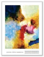 Semilla de un Poema Javier Lopez Barbosa Art Print 28x22