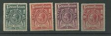 Falkland Islands 1912-20. High Values SG66 67 67b 68. Hinged Mint