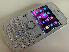 Nokia Asha 201 - Pearl White (Tesco) Smartphone