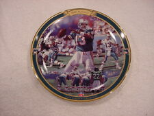 Sweet Dan Marino Games Greatest Bradford Collector Plate, Miami Dolphins, Mint!