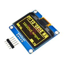 Yellow 1.5 inch 5Pin I2C IPS 128X64 OLED LCD Display Module SSD1309 for Arduino