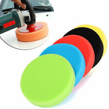 2017 New 5pcs 4 Flat Sponge Buffer Buffing Pads Polishing Pad Kit Car Polish
